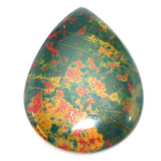 Natural 41.30cts bloodstone african (heliotrope) 40x29 mm loose gemstone s7913