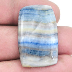 Natural 27.35cts blue scheelite 31x20 mm loose gemstone s7930