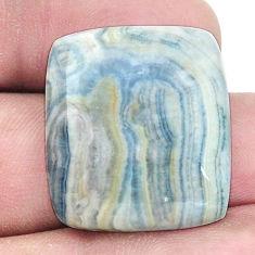 Natural 23.45cts blue scheelite 24x21 mm loose gemstone s7933