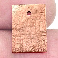 13.45cts copper nugget cabochon 15x11 mm octagan loose gemstone s8162