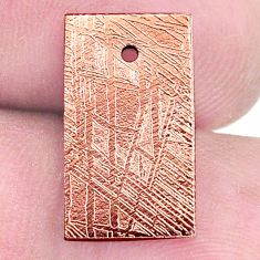 13.45cts copper nugget cabochon 17x10 mm octagan loose gemstone s8164