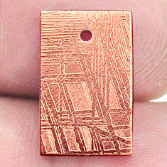 13.45cts copper nugget cabochon 16x10 mm octagan loose gemstone s8178
