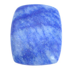 Natural 22.30cts dumortierite blue cabochon 26x20mm octagan loose gemstone s8628