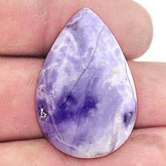 Natural 22.35cts tiffany stone purple 31x21 mm pear loose gemstone s8692