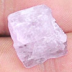 Natural 17.40cts kunzite rough pink rough 16x15 mm fancy loose gemstone s8978