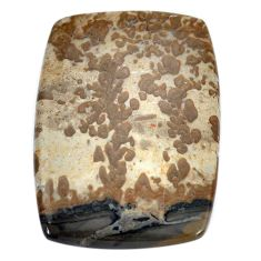 Natural 28.45cts cotham landscape marble brown 34x24 mm loose gemstone s8998