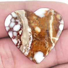 Natural 21.30cts wild horse magnesite bronze 25.5x27 mm loose gemstone s9016