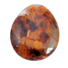 Natural 17.15cts pietersite (african) brown 24x20 mm pear loose gemstone s9238
