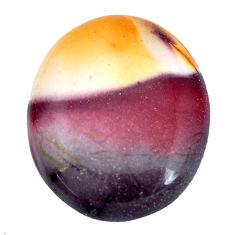Natural 29.20cts mookaite brown cabochon 29x24 mm oval loose gemstone s9282