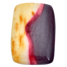 Natural 27.40cts mookaite brown cabochon 31x20 mm octagan loose gemstone s9295