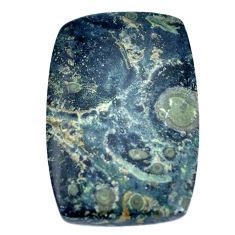 Natural 24.15cts kambaba jasper green 30x20 mm octagan loose gemstone s9339