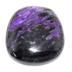 Natural 38.45cts sugilite purple cabochon 25x23.5 mm fancy loose gemstone s9599