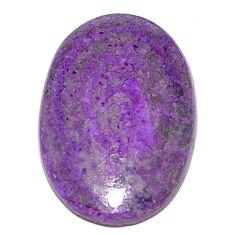 Natural 10.10cts sugilite purple cabochon 22x15 mm oval loose gemstone s9612