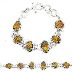 Titanium druzy fancy 925 sterling silver bracelet jewelry d23912