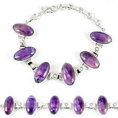 925 sterling silver natural multi color fluorite white pearl bracelet k28855