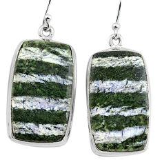 27.70cts 925 sterling silver dangle earrings jewelry p88787