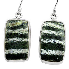 24.00cts 925 sterling silver dangle earrings jewelry p88788