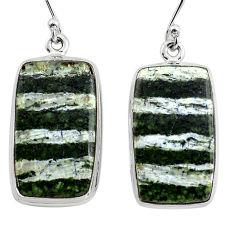 25.03cts 925 sterling silver dangle earrings jewelry p88789