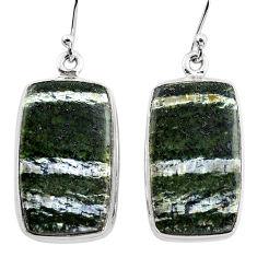 23.68cts 925 sterling silver dangle earrings jewelry p88790