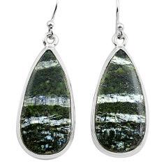 23.95cts 925 sterling silver dangle earrings jewelry p88796