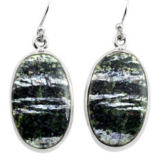 25.00cts 925 sterling silver dangle earrings jewelry p88798