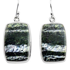 26.65cts 925 sterling silver dangle earrings jewelry p88799