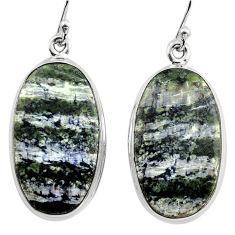 24.38cts 925 sterling silver dangle earrings jewelry p88800