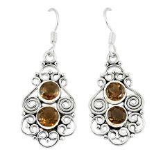 Clearance Sale- z 925 sterling silver dangle earrings jewelry d12709