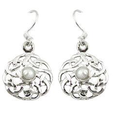 Clearance Sale- arl 925 sterling silver dangle earrings jewelry d9408