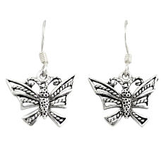 925 silver indonesian bali style solid dragonfly earrings jewelry c20290