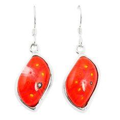 925 silver multi color italian murano glass dangle earrings jewelry c21771