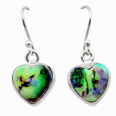 925 sterling silver 5.22cts multi color sterling opal earrings jewelry t26339