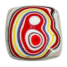 4.35cts fordite detroit agate cabochon 15x14 mm octagan loose gemstone s13455