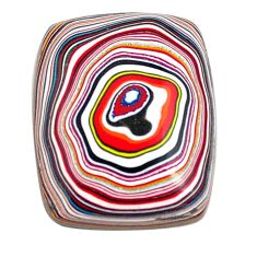 4.35cts fordite detroit agate cabochon 16x12.5 mm octagan loose gemstone s13449