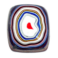 6.35cts fordite detroit agate cabochon 16x13.5 mm octagan loose gemstone s13447