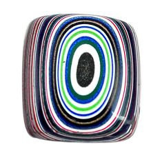 5.30cts fordite detroit agate cabochon 16x14 mm octagan loose gemstone s13448