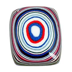 5.30cts fordite detroit agate cabochon 17x13.5 mm octagan loose gemstone s13444