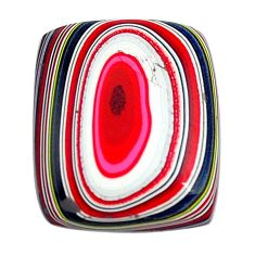 5.10cts fordite detroit agate cabochon 17x14 mm octagan loose gemstone s13450