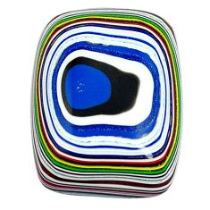6.35cts fordite detroit agate cabochon 18x13.5 mm octagan loose gemstone s13427