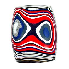 5.15cts fordite detroit agate cabochon 18x13.5 mm octagan loose gemstone s13432