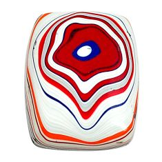 6.30cts fordite detroit agate cabochon 18x14 mm octagan loose gemstone s13439