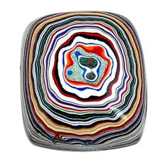 8.45cts fordite detroit agate cabochon 18x15 mm octagan loose gemstone s13422