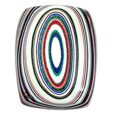 7.40cts fordite detroit agate cabochon 19x14 mm octagan loose gemstone s13425