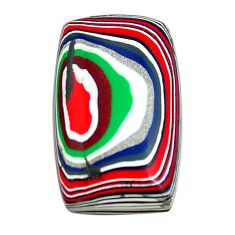 5.15cts fordite detroit agate cabochon 20x12 mm octagan loose gemstone s13457