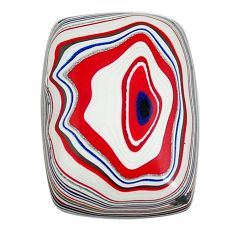 7.40cts fordite detroit agate cabochon 20x14 mm octagan loose gemstone s13423