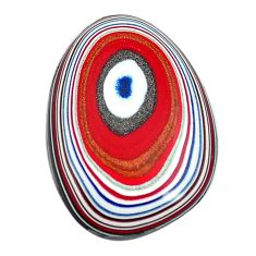 6.30cts fordite detroit agate cabochon 24x16.5 mm fancy loose gemstone s13416