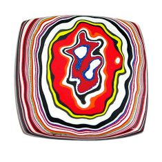 8.25cts fordite detroit agate cabochon 25.5x25 mm octagan loose gemstone s13420