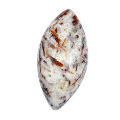 Natural 21.35cts astrophyllite (star leaf) bronze 31x14 mm loose gemstone s14792