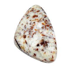 Natural 23.40cts astrophyllite (star leaf) bronze 31x19 mm loose gemstone s14791