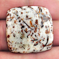 Natural 40.15cts astrophyllite bronze 27x27 mm octagan loose gemstone s14814